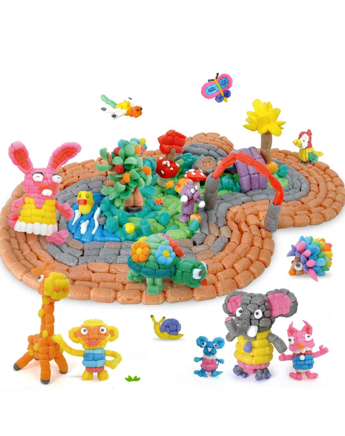 特宝儿 1000粒龟兔赛跑手工制作玉米粒