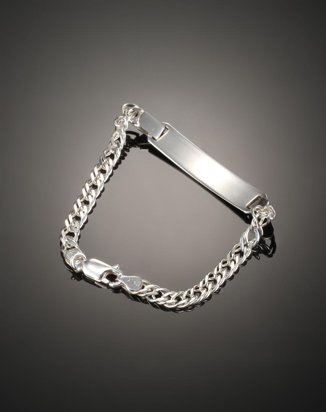 简约银手链