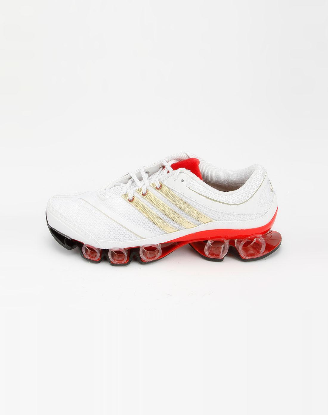 女款白色网面运动鞋2g12259