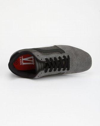 万斯vans男士专场-灰色系带休闲板鞋
