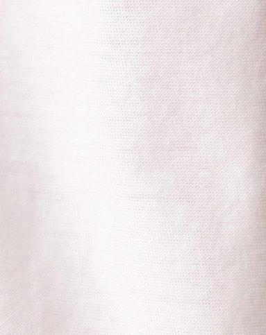 白色渐变字母印花t恤