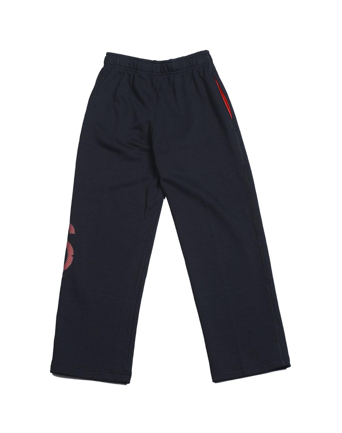 耐克nike儿童黑色长裤480380-010