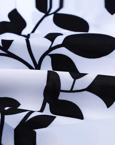 黑色树叶粘贴画图片大全