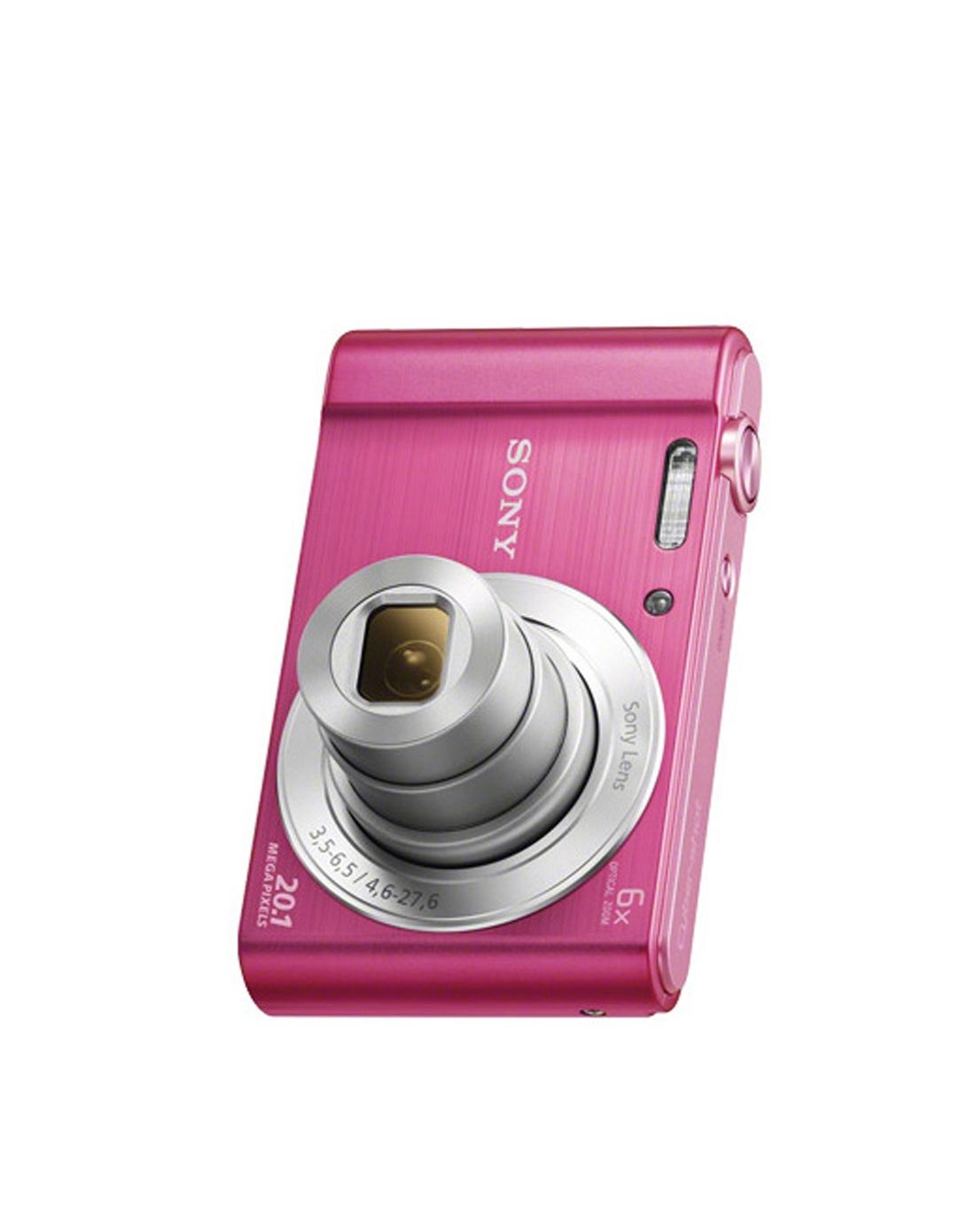 索尼w810数码相机粉色
