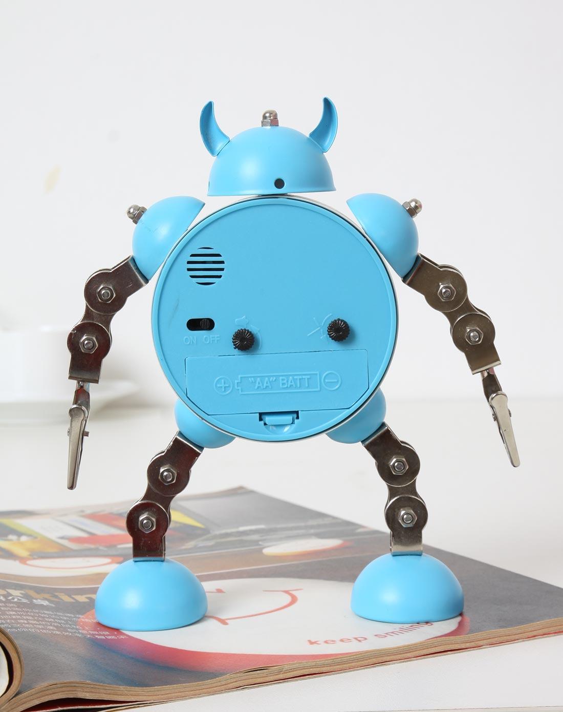 手工机器人囹�a�i)�aj_手工机器人闹钟-蓝色