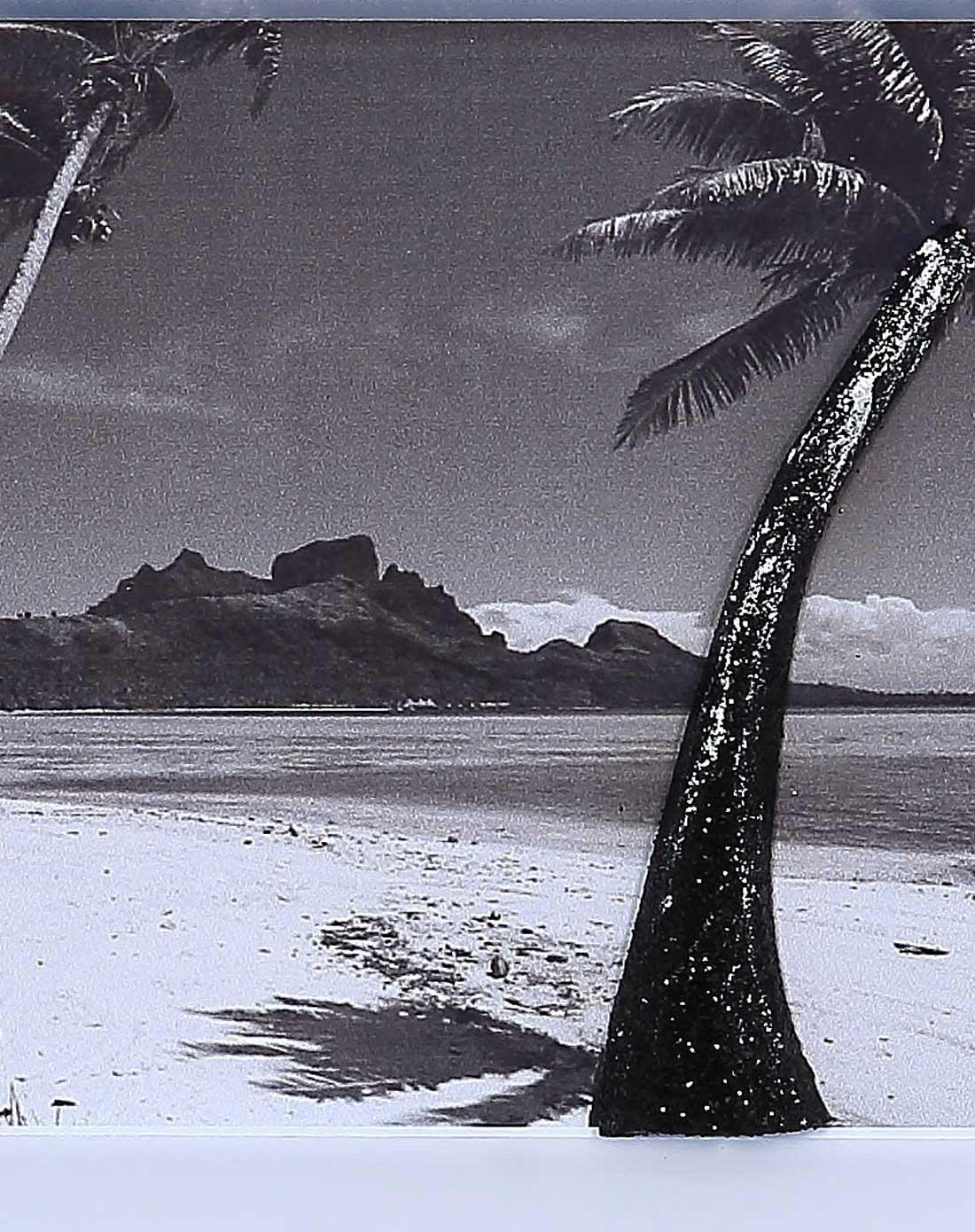 经典黑白风3d立体画-f