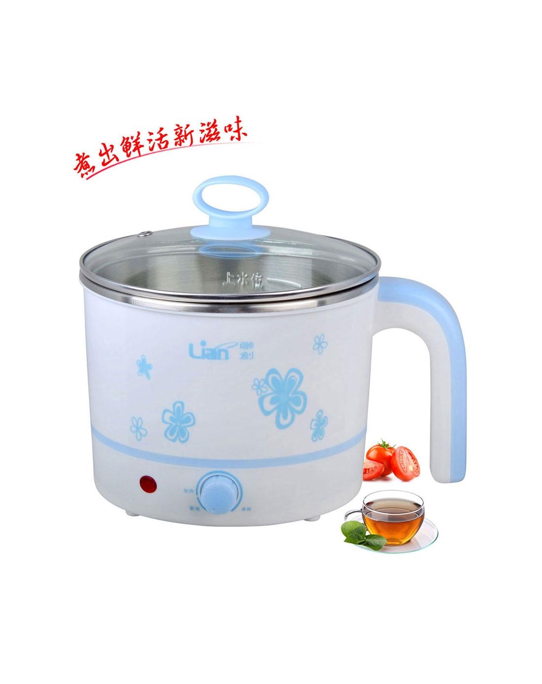 蓝色多功能电煮锅
