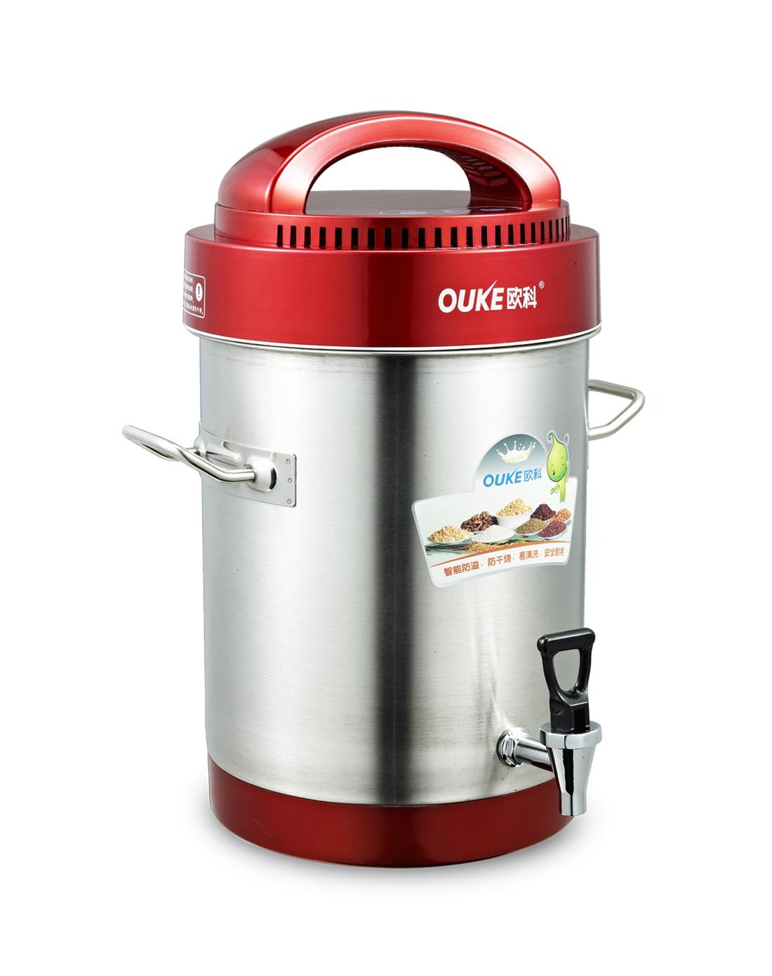 > 欧科商用豆浆机 10l超大容量