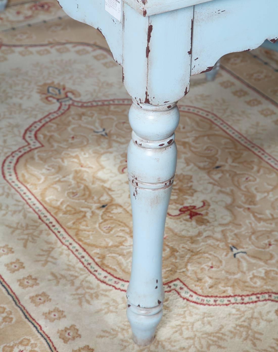 欧式地中海风格手绘餐桌