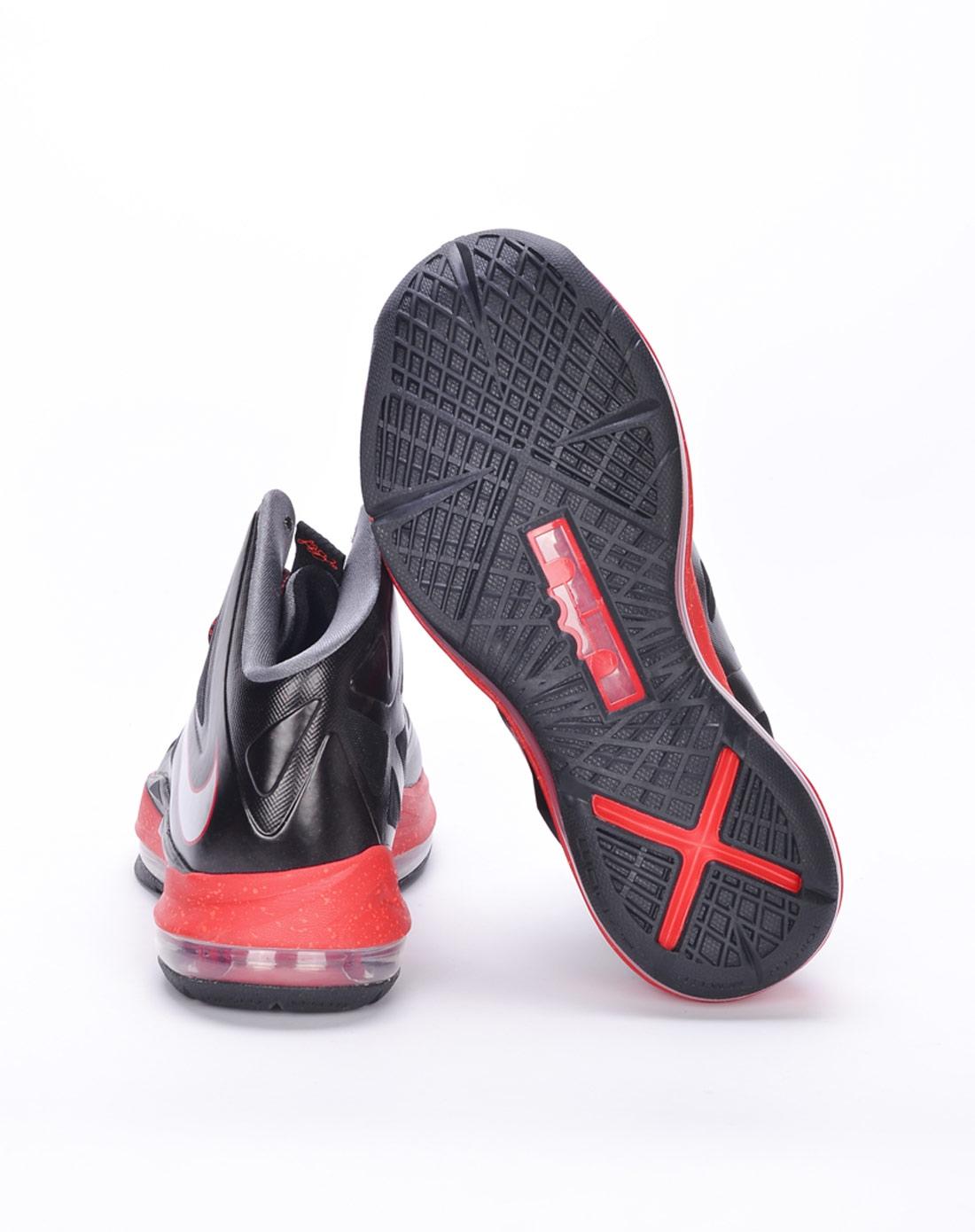 耐克nike儿童黑色lbj篮球鞋543564-001