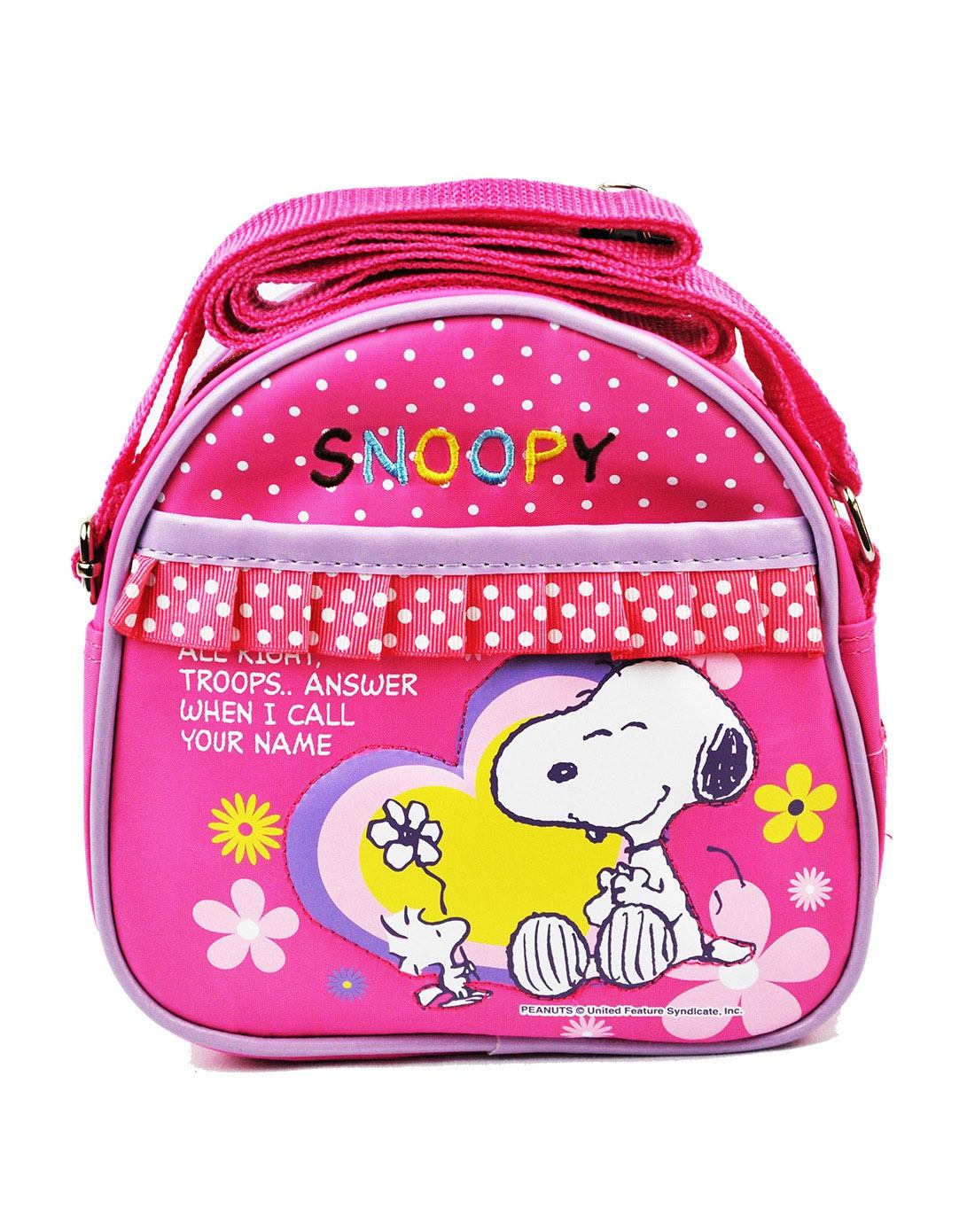 史努比可爱花边包包