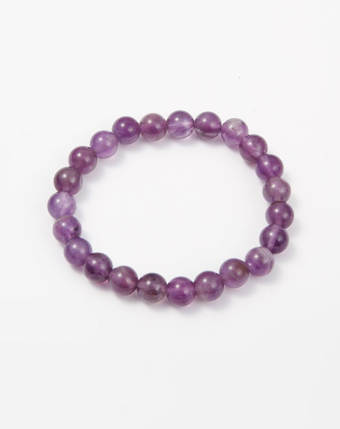 熙帝紫色紫水晶手链031564