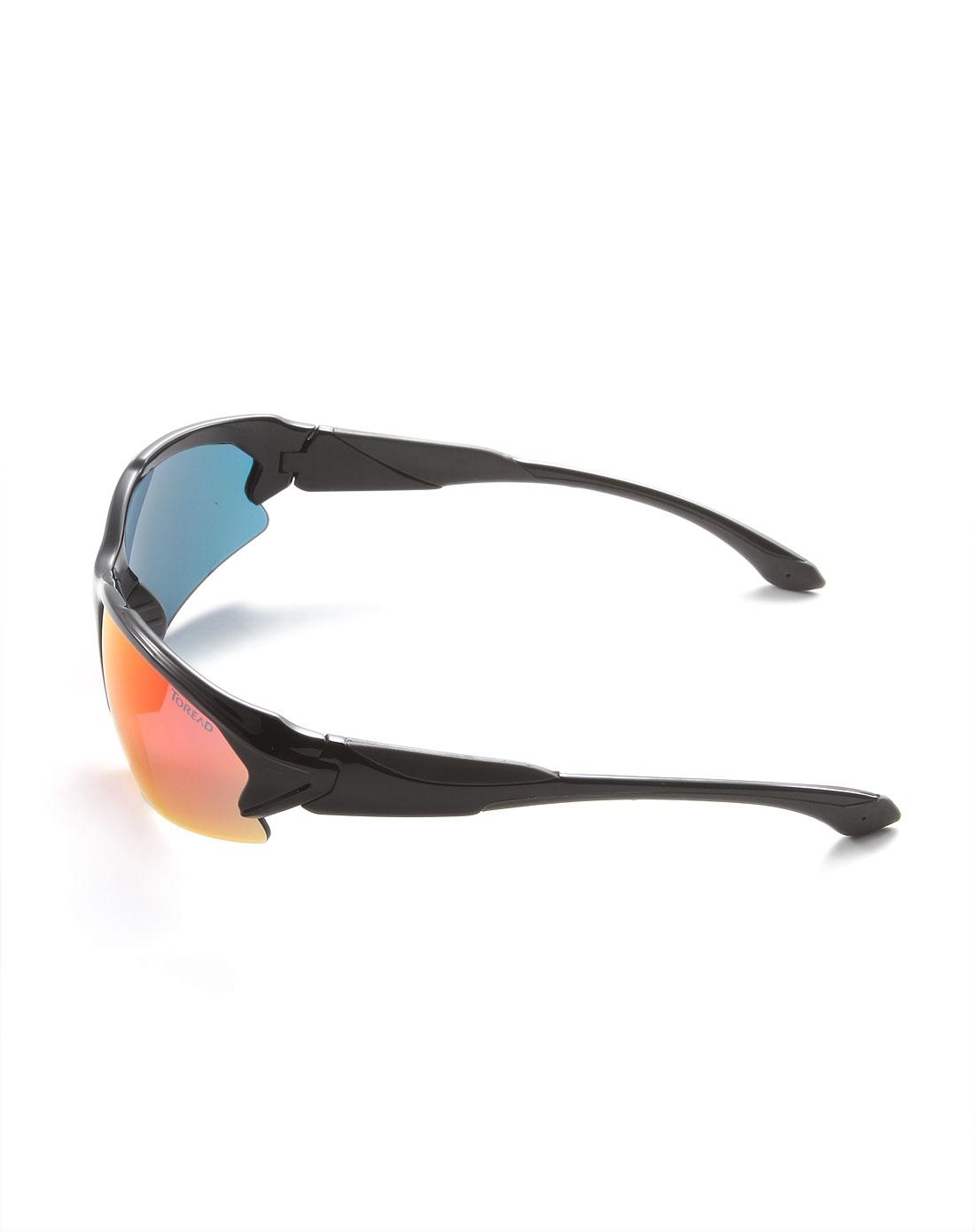 中性款新潮帅气黑色眼镜