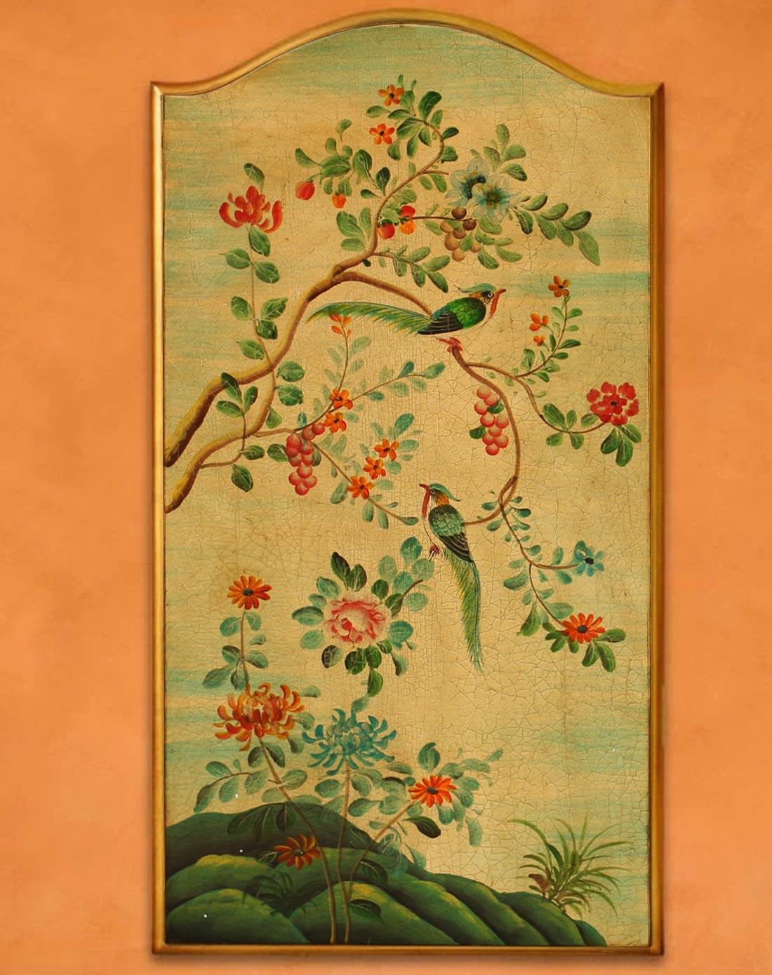 鱼西美屋专场大型欧式花鸟木质装饰画1号yxmwj305