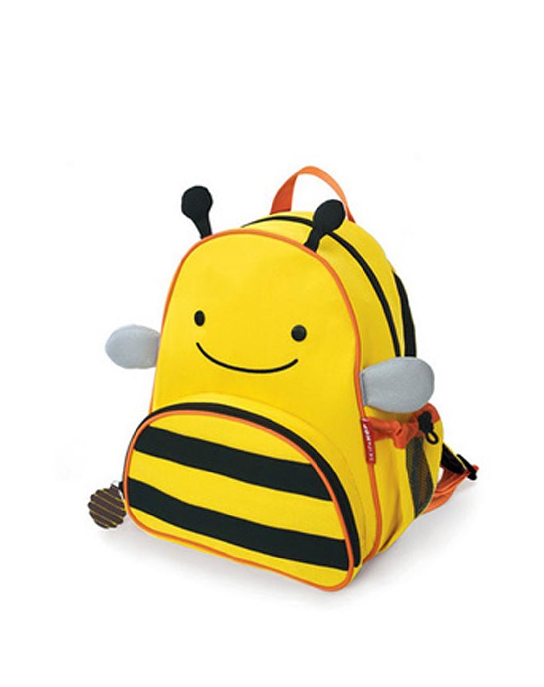 > 可爱儿童双肩背卡通书包(黄蜜蜂)