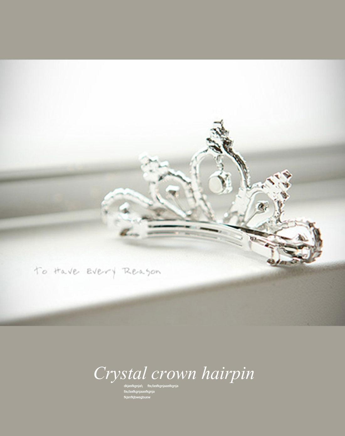 公主皇冠发卡