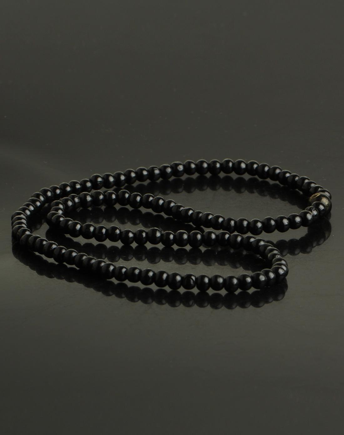 中性时尚檀香木质佛珠手链
