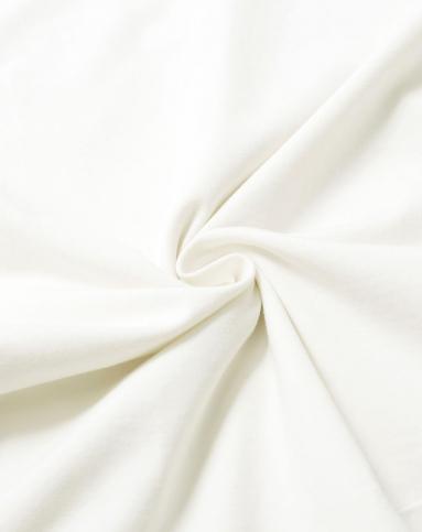 知性简约米白色短袖上衣