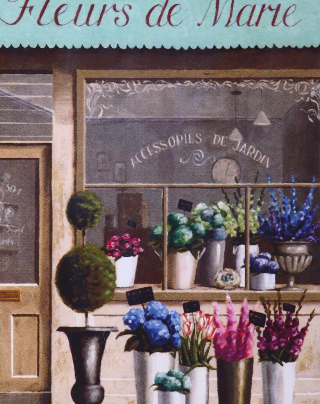 装饰画-欧式花店