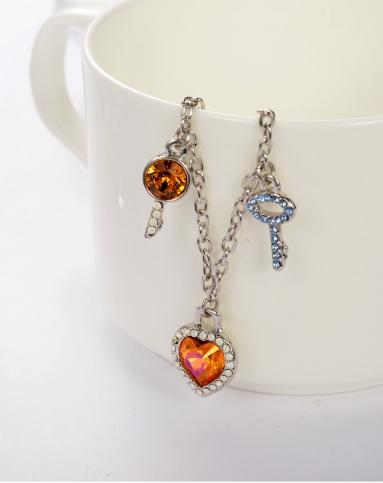 施华洛世奇元素魔法钥匙水晶手链