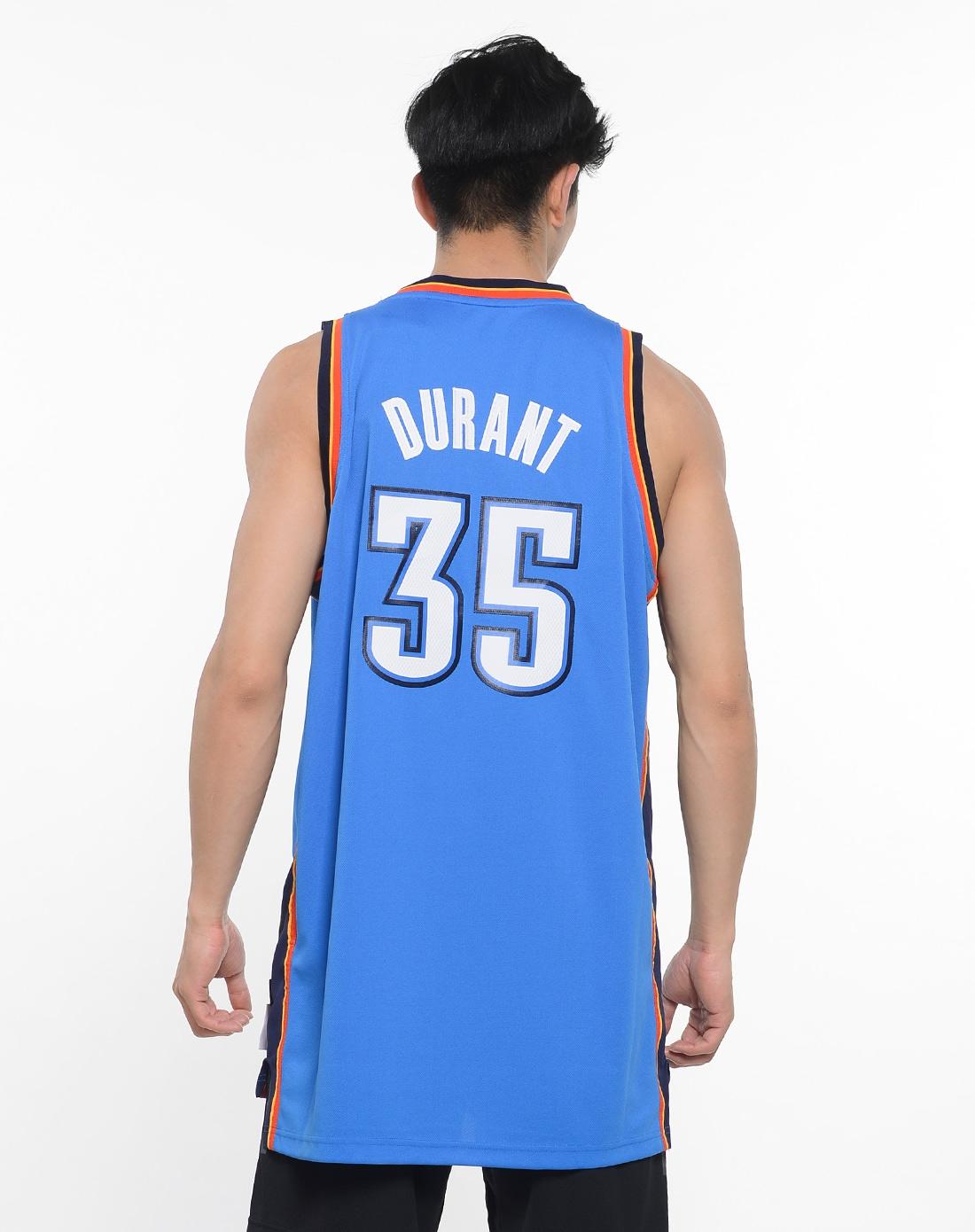阿迪达斯adidas男子蓝色 nba 球迷版 球衣 l71759 174x220-阿迪达斯图片