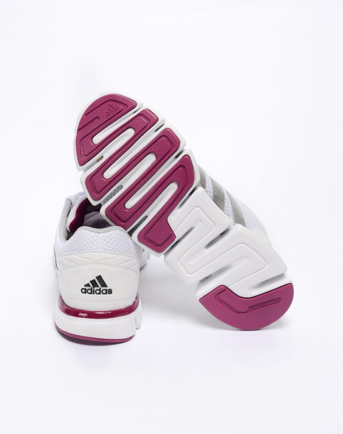 阿迪达斯adidas女鞋专场-女子白色跑步鞋