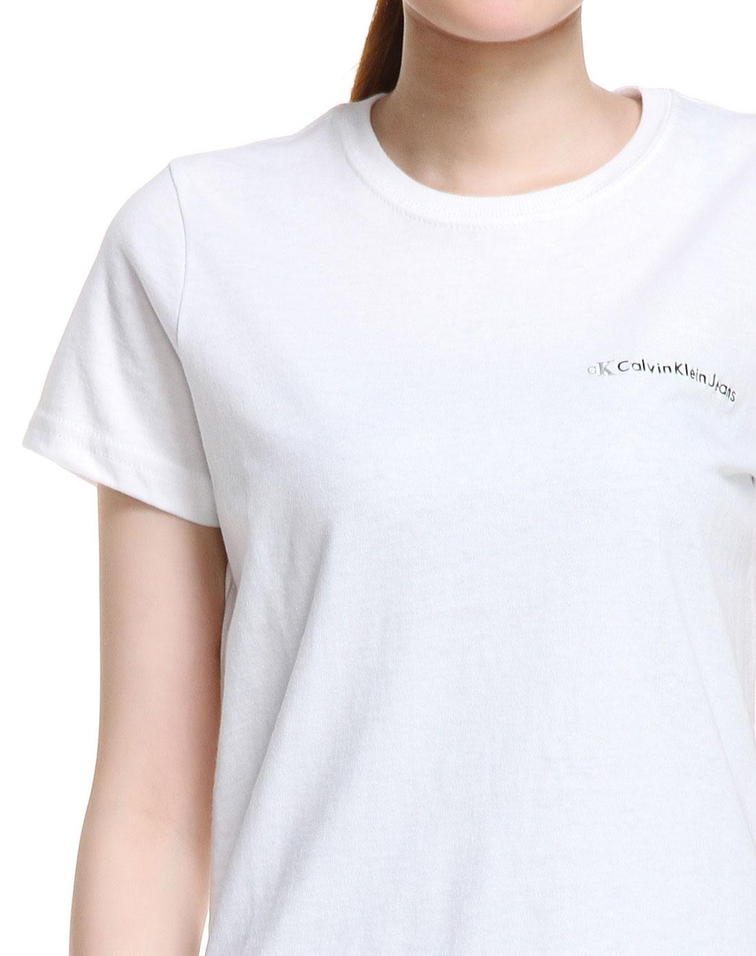 女款短袖t恤白色