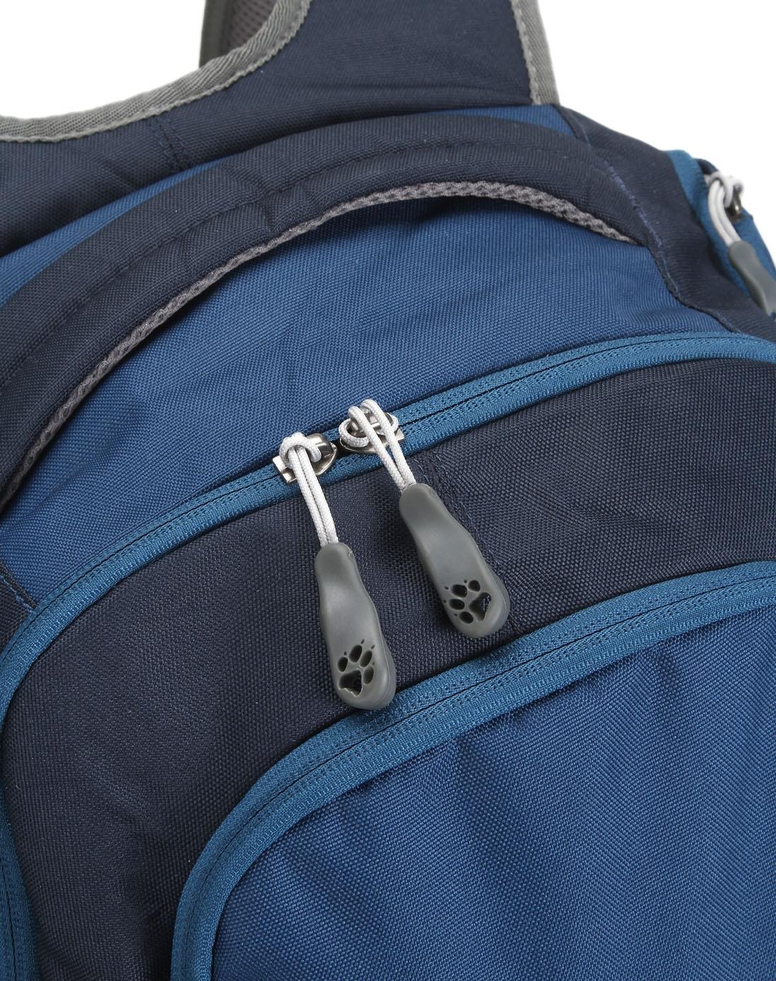 中性时尚深蓝色背包图片