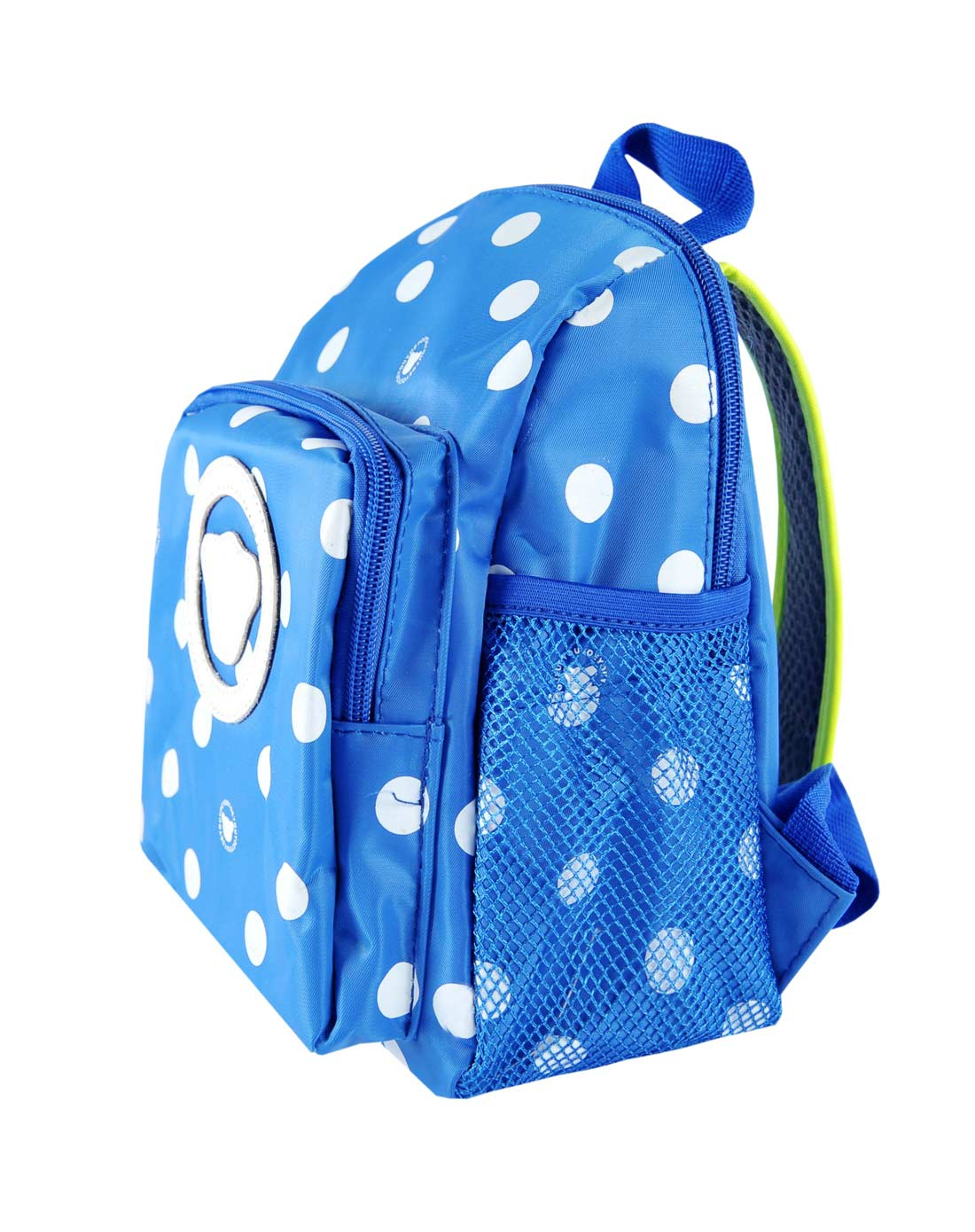蓝色圆点儿童双肩包