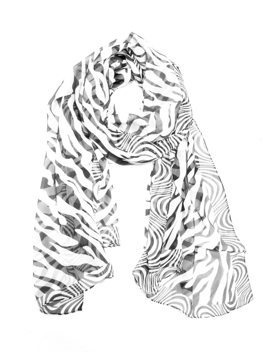 系丝巾女性简笔画