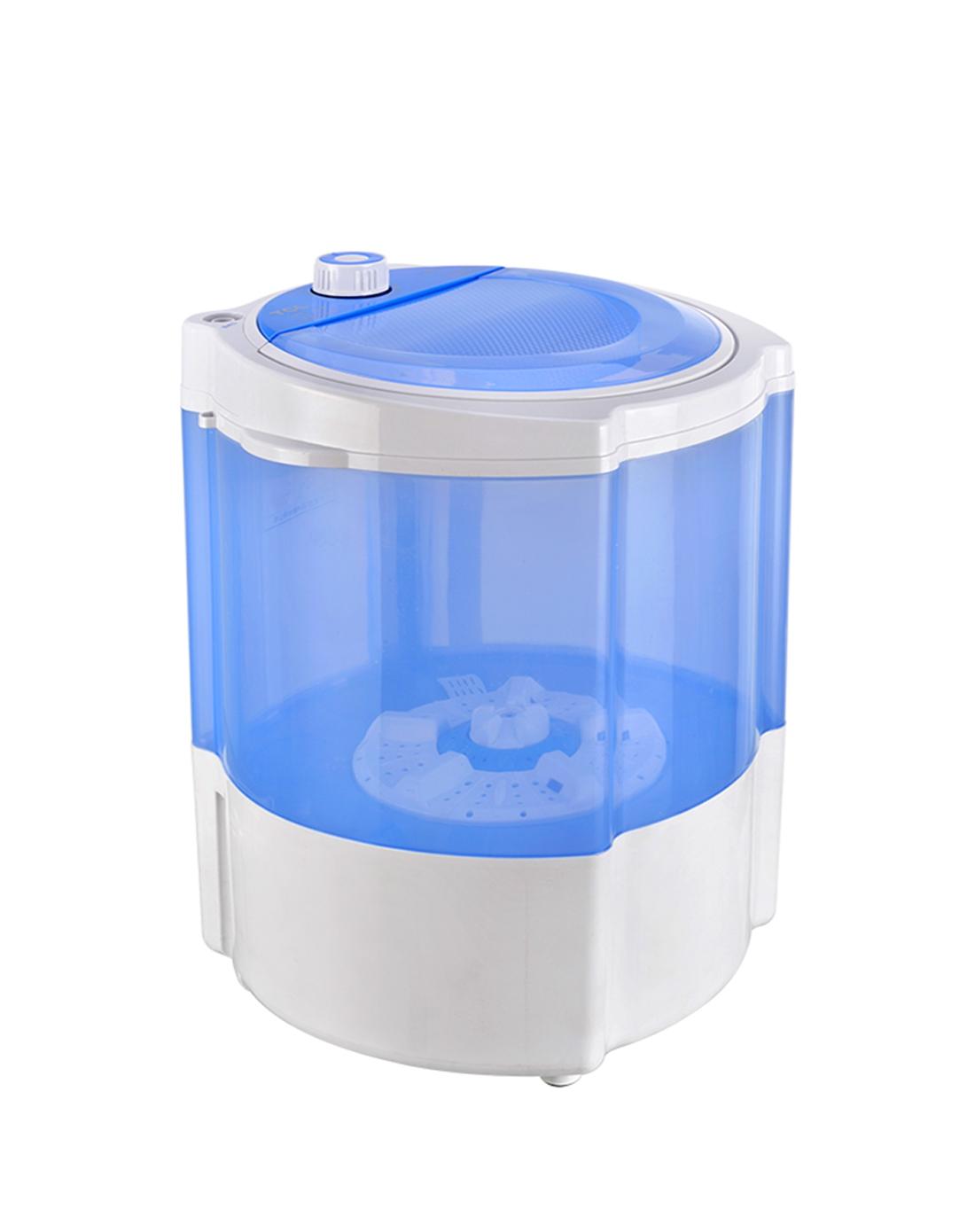 > 3.5公斤单筒小型半自动迷你洗衣机