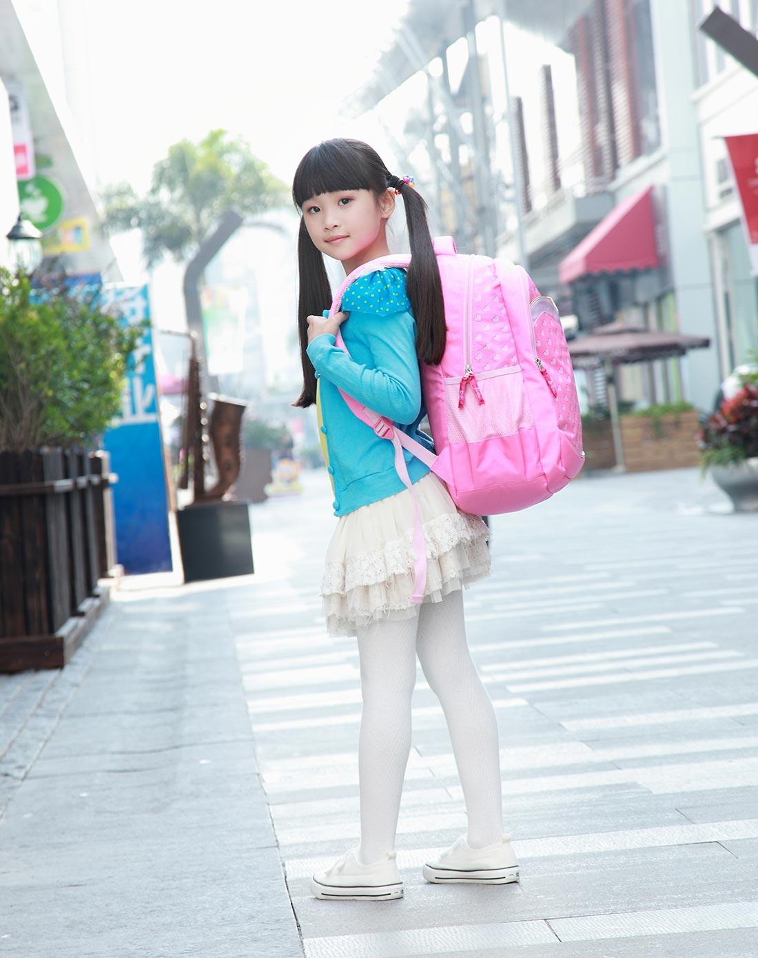 kadnoo 014新款芭比专柜正品书包小学生3-6年级儿童书包韩版双肩背包