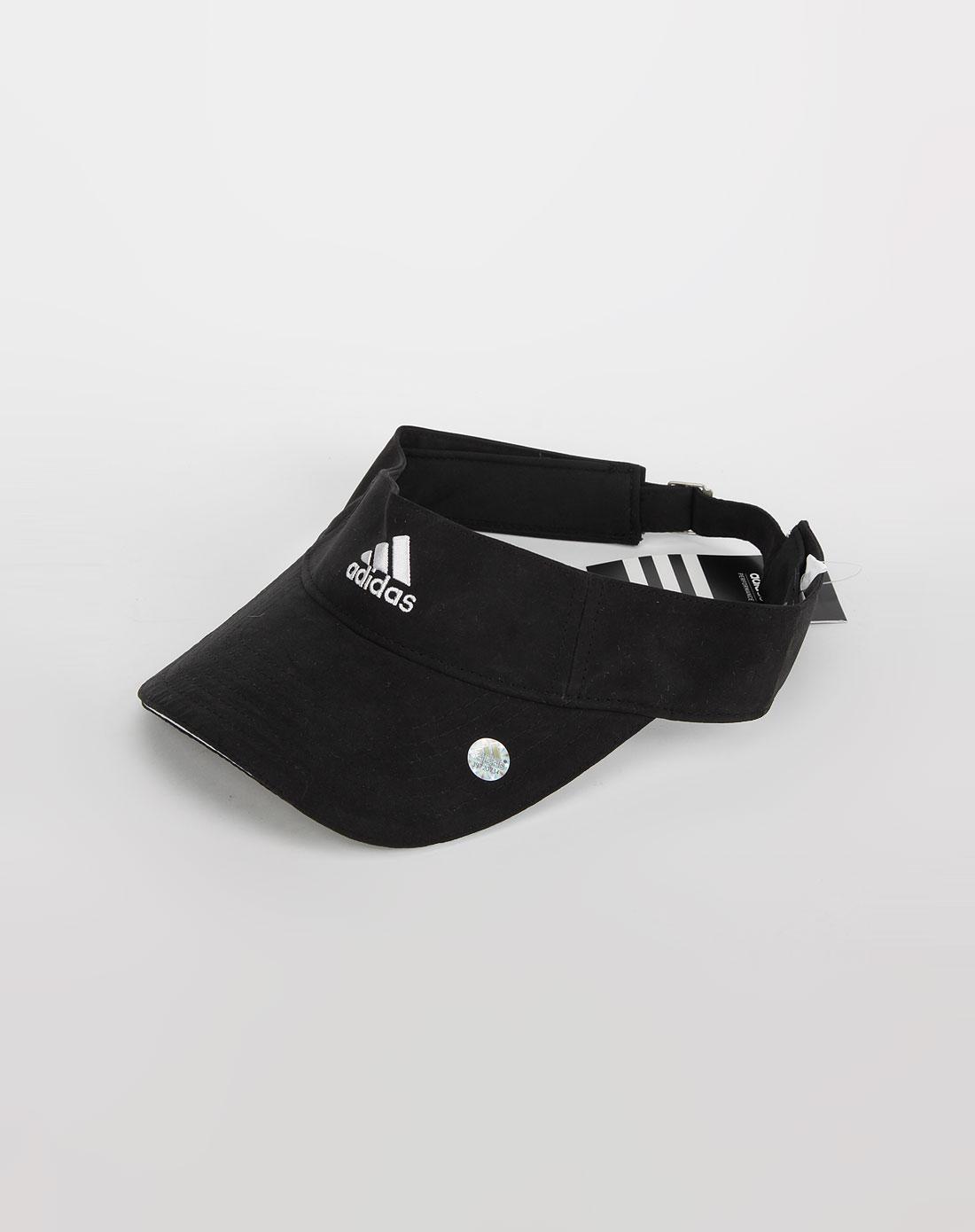 阿迪达斯adidas 中性黑色网球帽