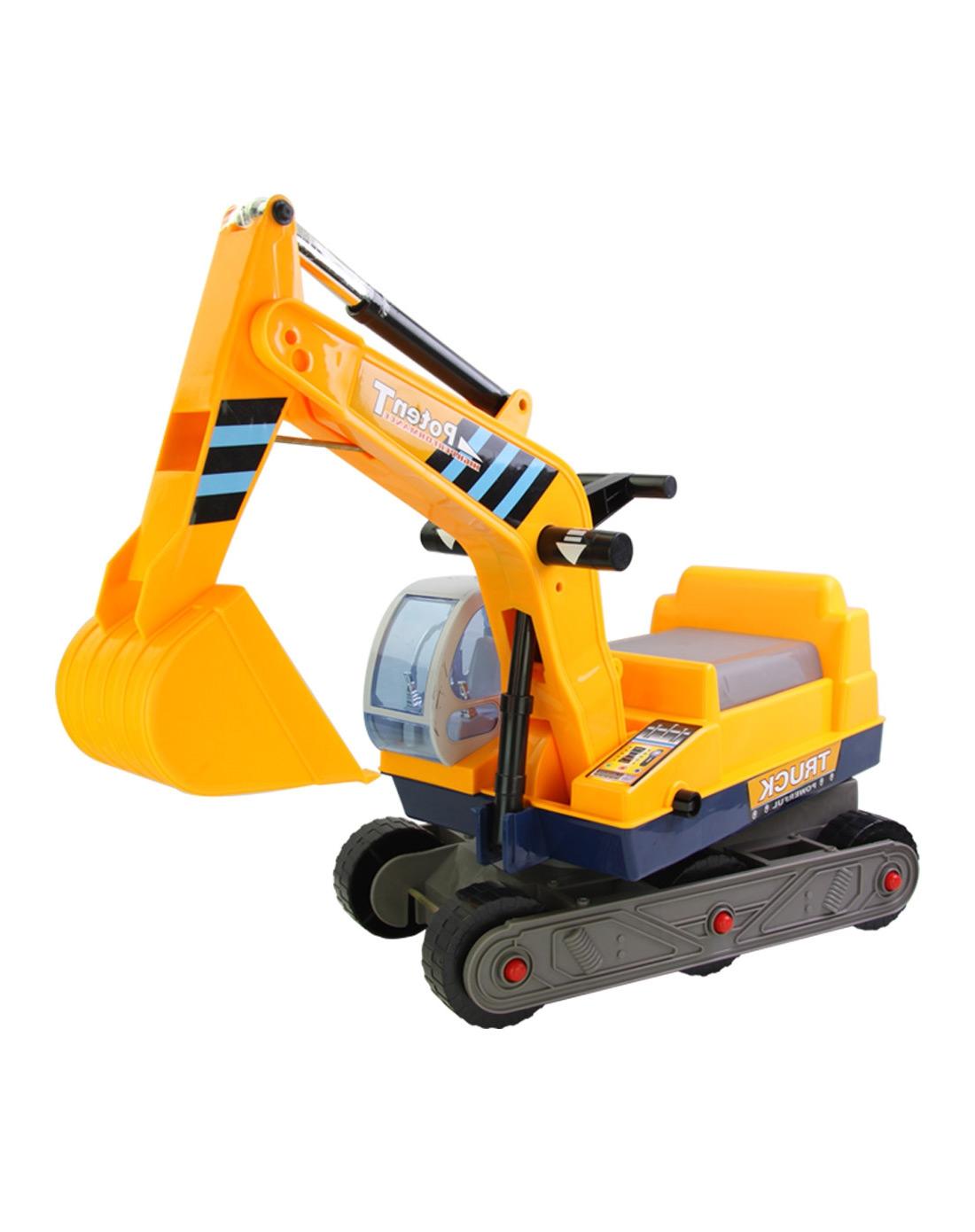 儿童铁质玩具挖土机