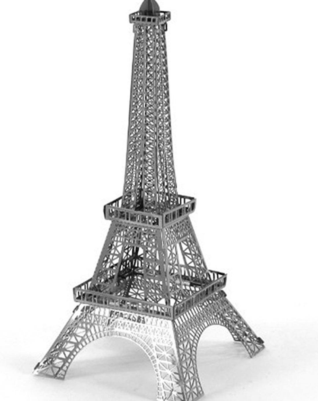 趣玩创意家居移动端专场(埃菲尔铁塔)3d微型立体雕塑
