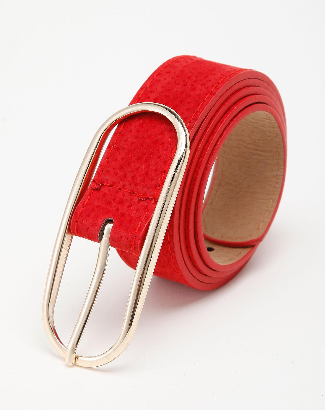女款红色时尚腰封/腰带