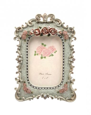 欧式宫廷玫瑰花饰唯美古典相框