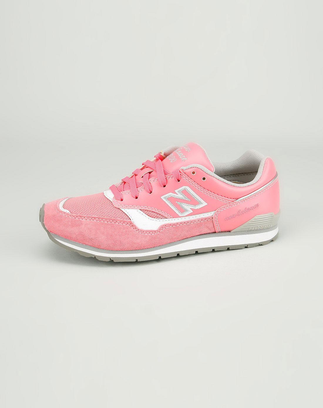 balance女款桃红色时尚运动鞋rc1500ro00d
