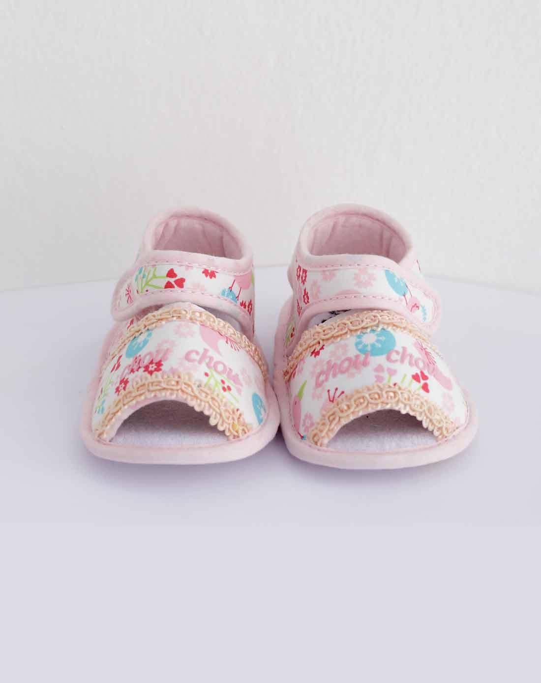 女宝宝水红小公主鞋