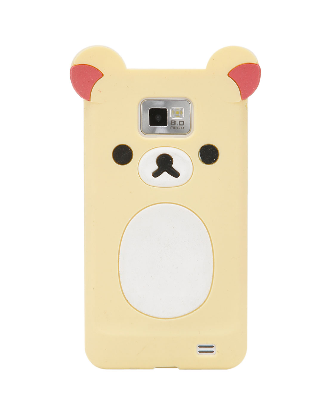 三星i9100 米白/白色轻松熊手机套