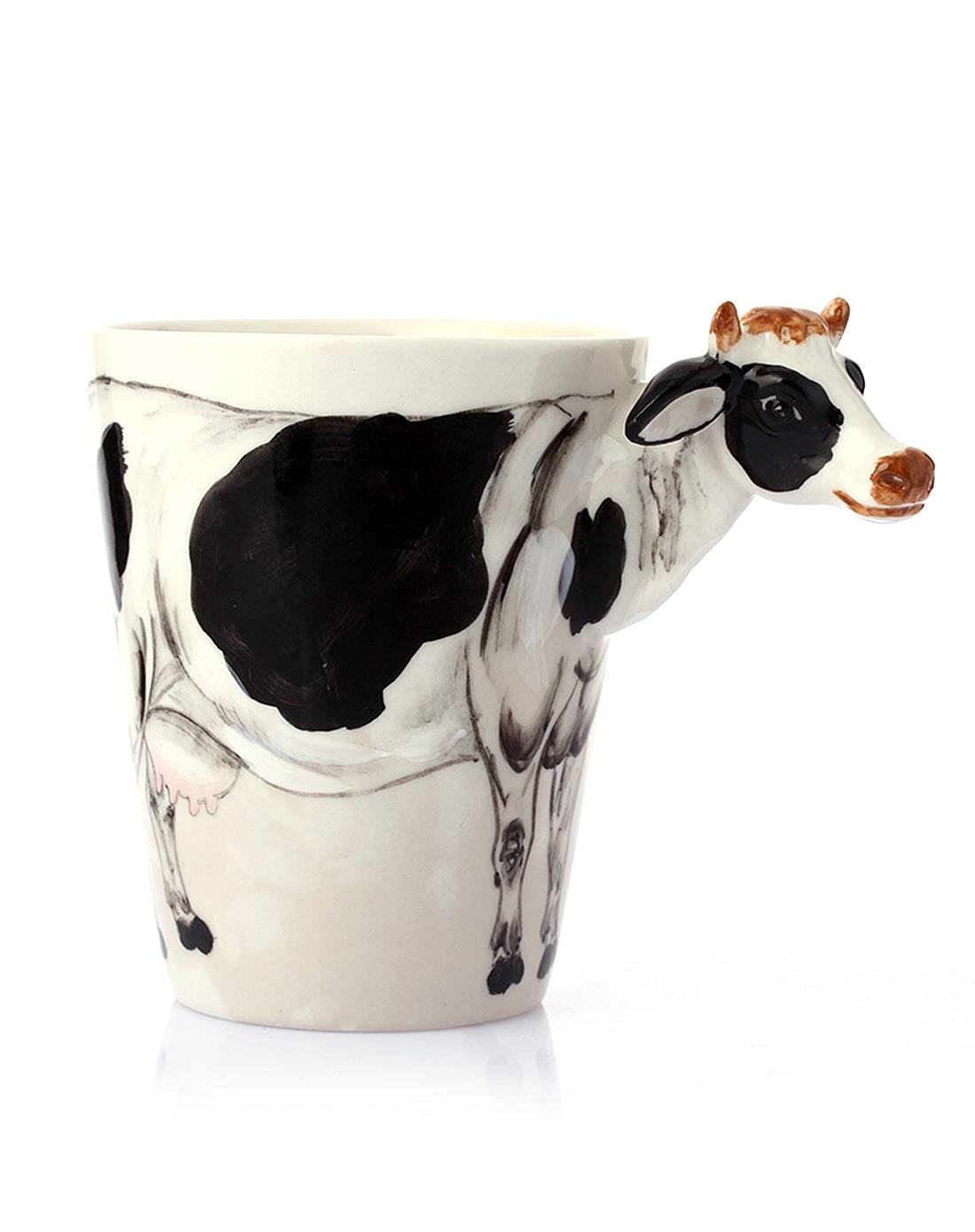 趣玩创意(奶牛款)3d立体纯手绘动物杯42823