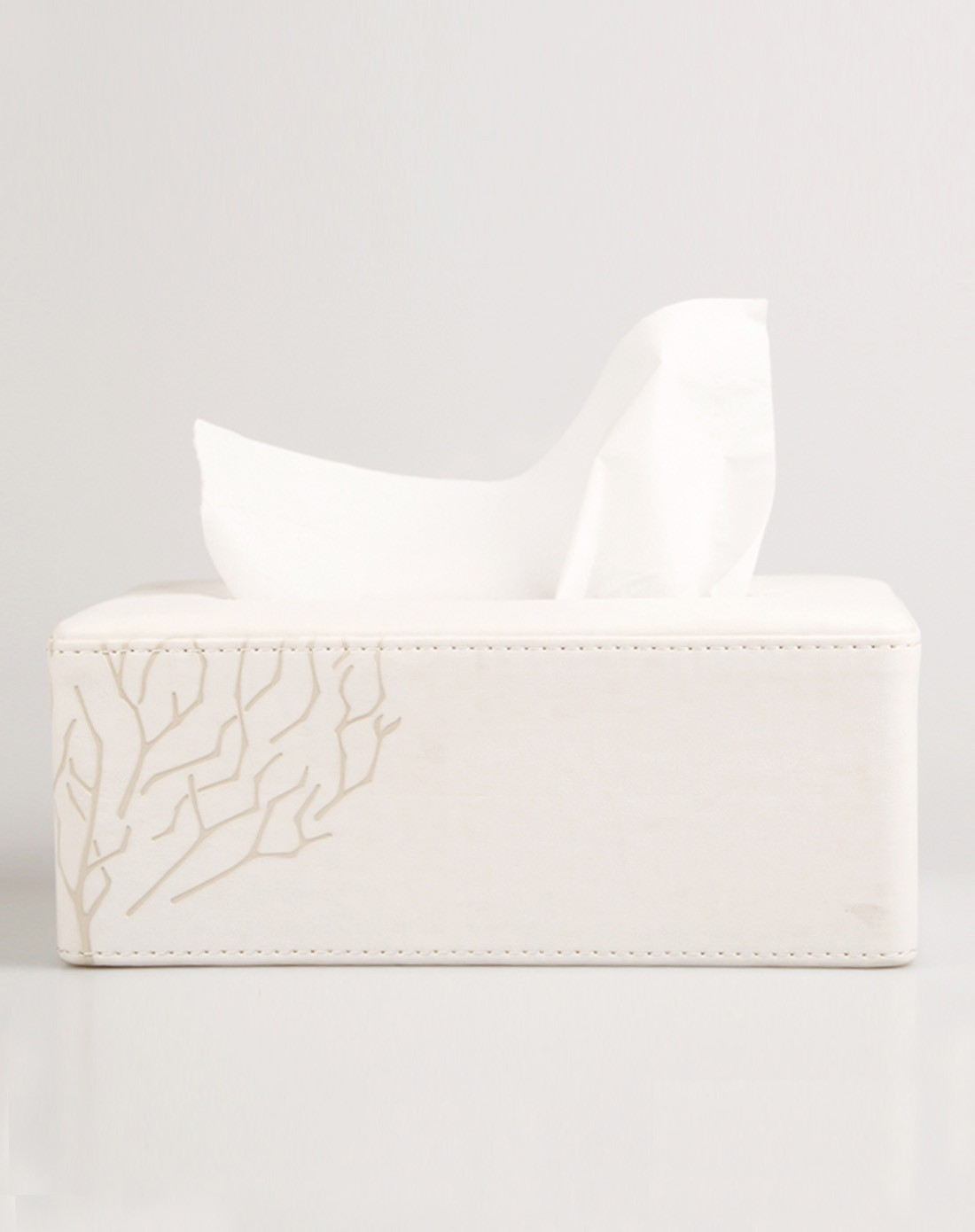 白白色潮吹影院_变色pu长纸巾盒(白色)