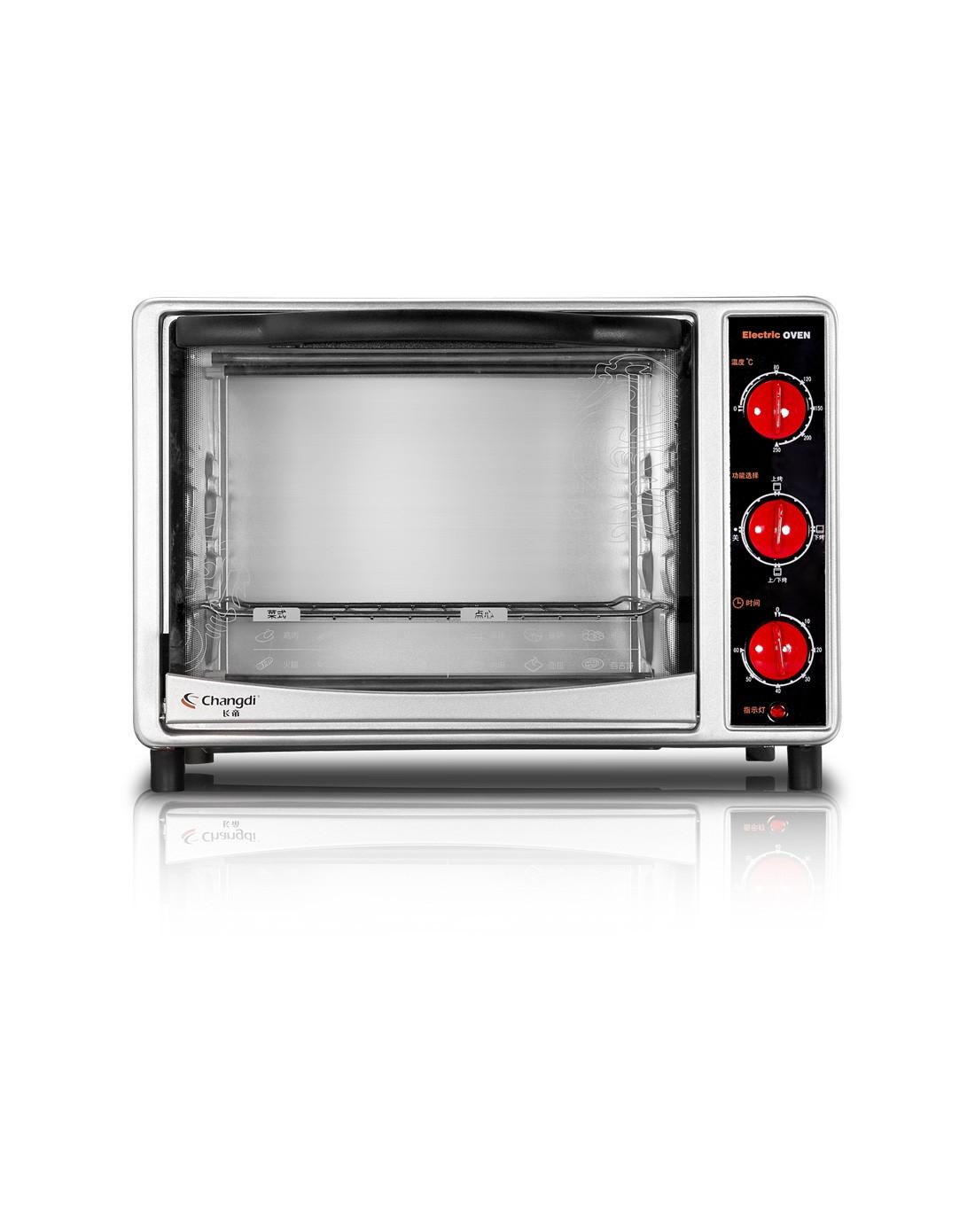 > 立体内胆多功能控制电烤箱ck-18sn