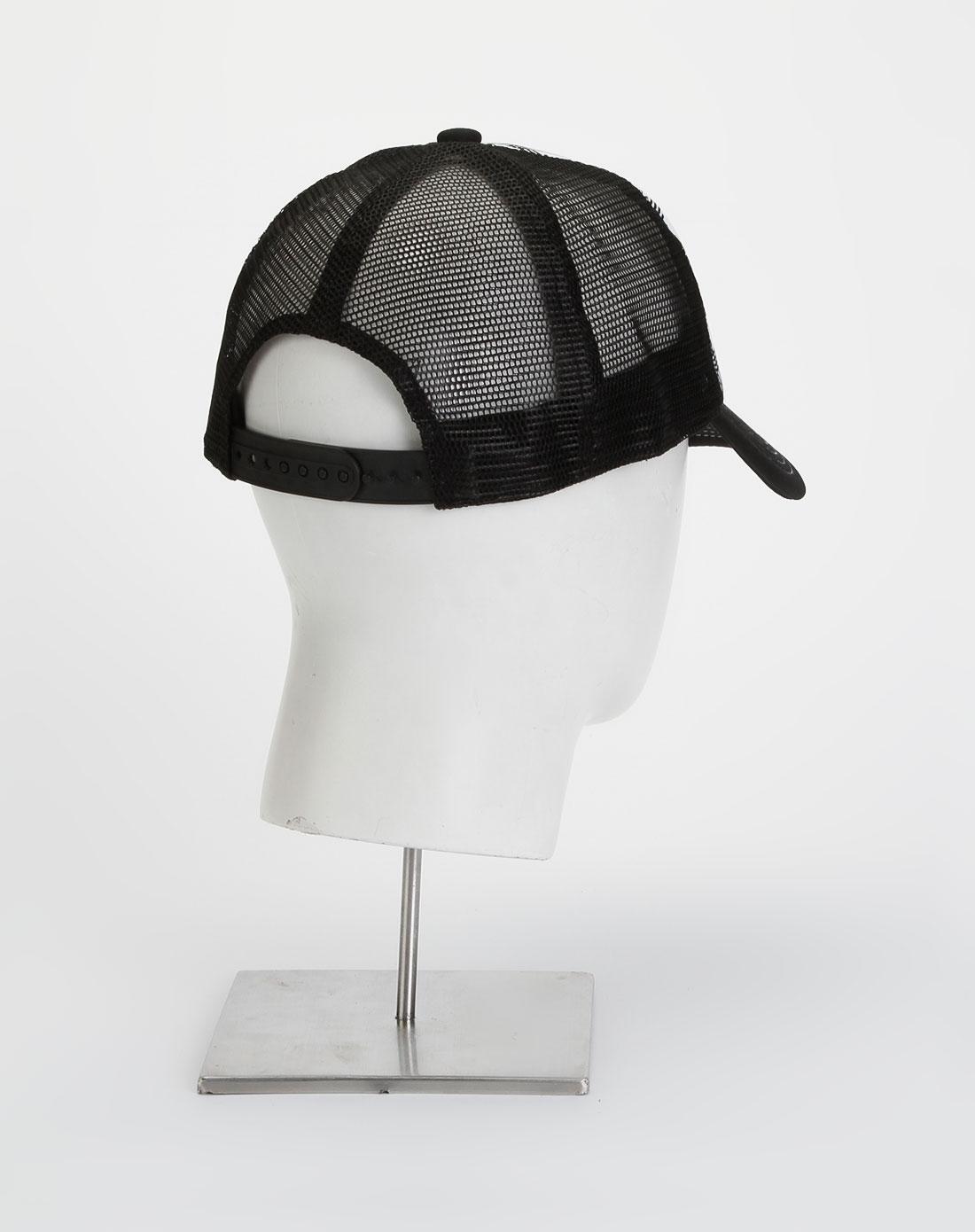 黑/白色印字帽子