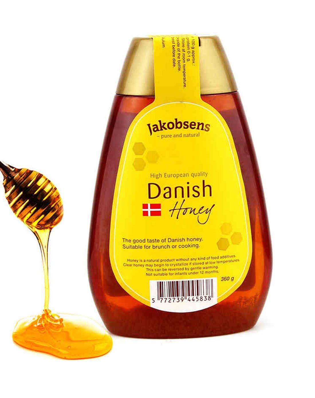 雅各布森原味蜂蜜360g