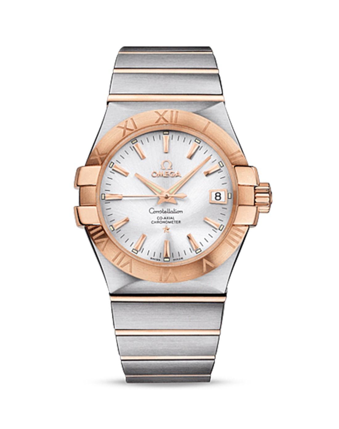 手表混合专场-omega 欧米茄 星座系列 18k金 天文台认证 自动机械男表图片