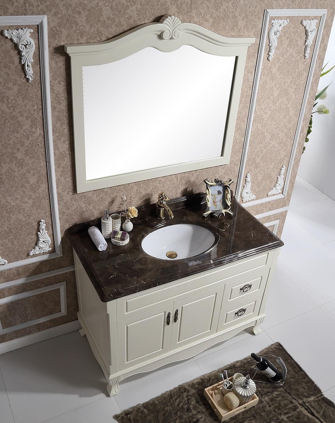 大理石台面浴室柜