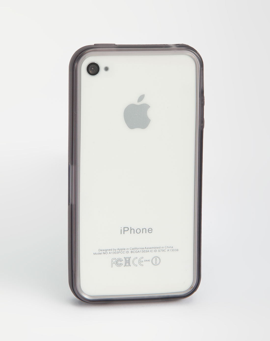iphone4/4s 灰色tpu手机边框