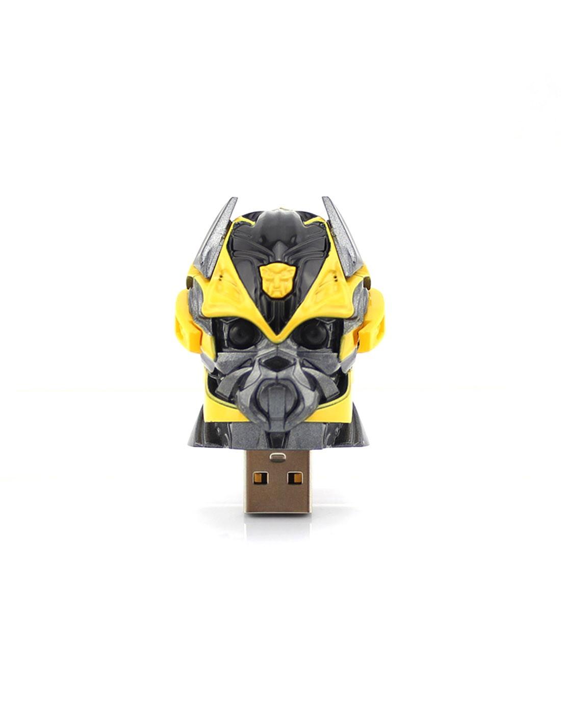 卡通数码配件专场变形金刚大黄蜂头盔优盘8g变形金刚