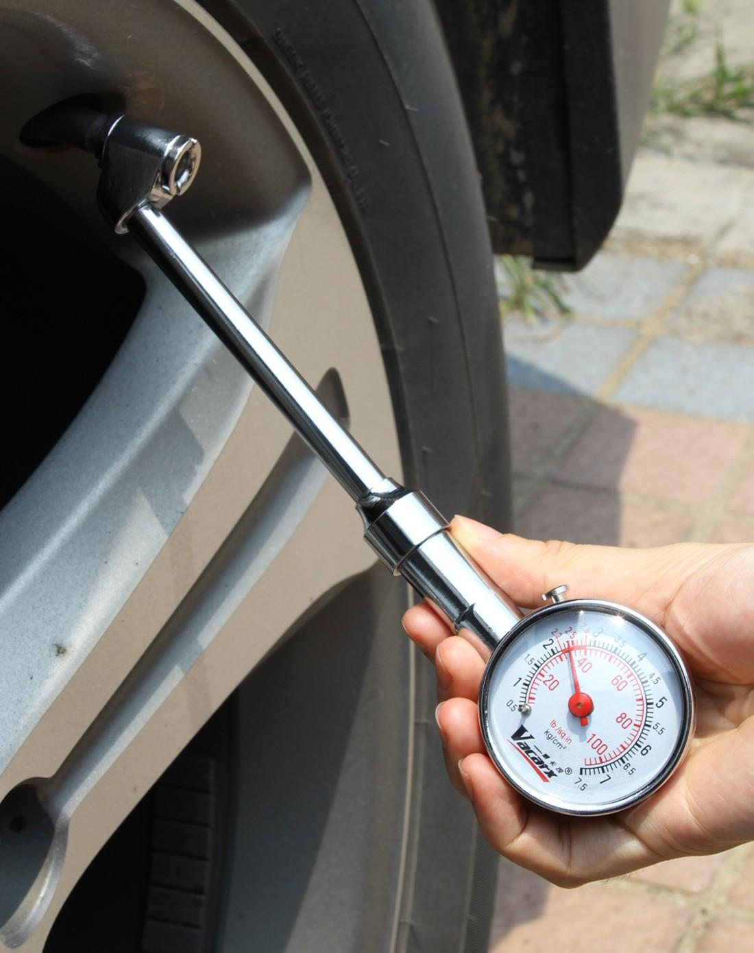 车上用品专场双向精密轮胎气压计va-285图片